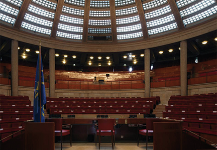 L'hémicycle du CESE