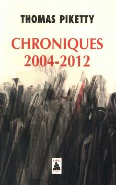 Livre Chroniques 2004-2012