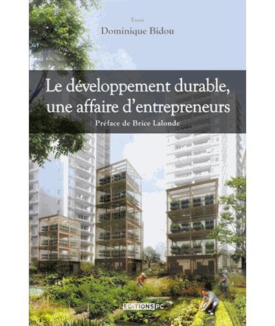 Livre Le développement durable, une affaire d'entrepreneurs