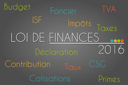 Loi de Finances 2016