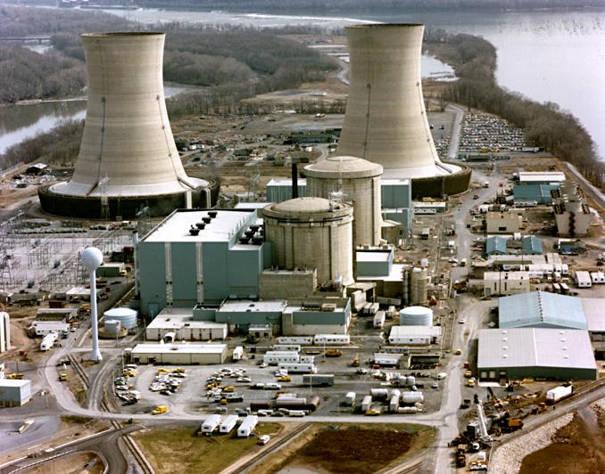Centrale nucléaire aux USA