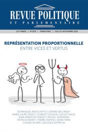 Revue Politique et Parlementaire n° 1076