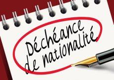 Déchéance de la nationalité