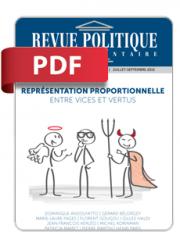 Revue Politique et Parlementaire n° 1076 (PDF)