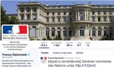 Diplomatie française et réseaux sociaux