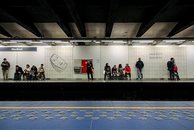 Station Malbeck à Bruxelles