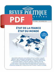 Revue Politique et Parlementaire n° 1082 – PDF