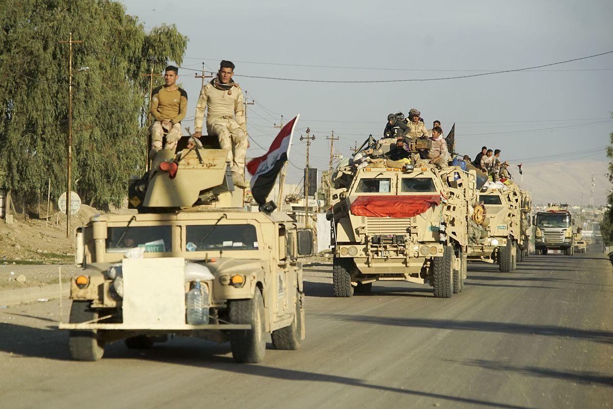 Armée Irakienne Mossoul