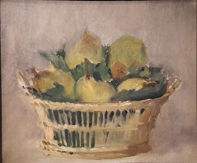 Corbeille de poires, Edouard Manet, 1882