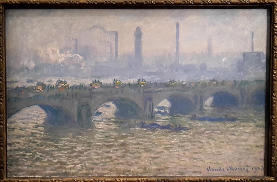 Le Pont de Waterloo, temps gris, Claude Monet, 1903