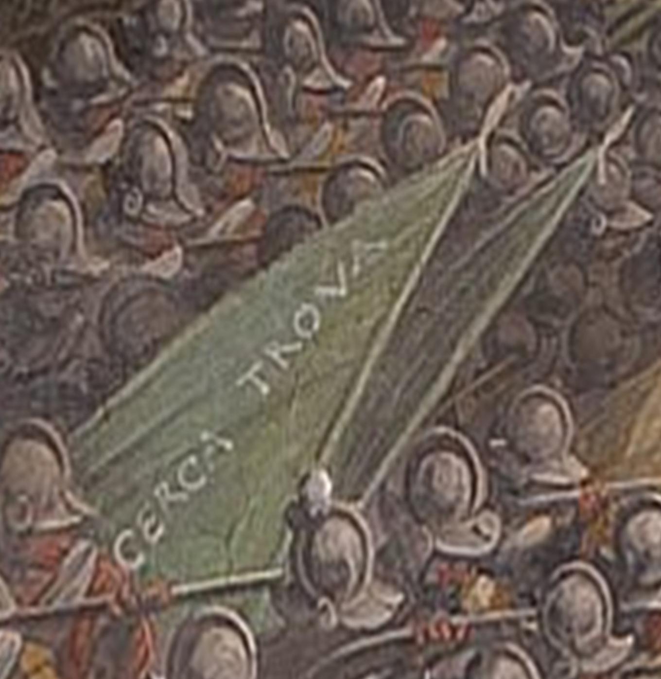 """La bataille de Marciano, Vasari """"Cherche et trouve"""""""