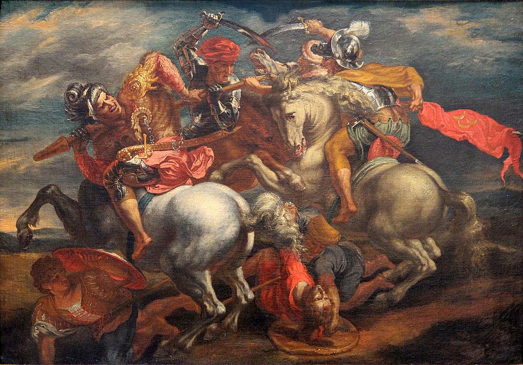 La bataille d'Anghiari, Rubens Source : Wikimedia