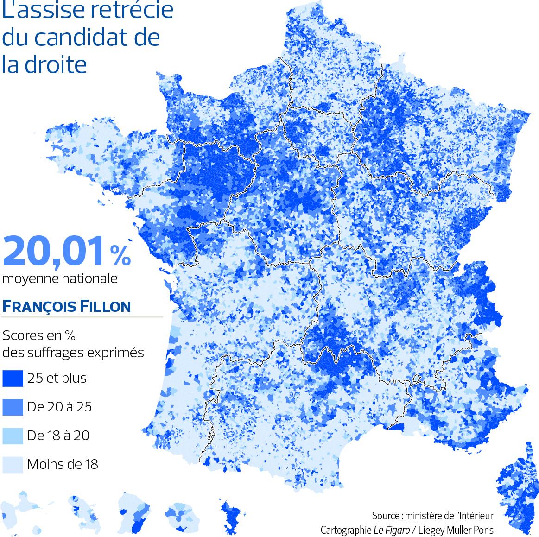 L'assise rétrécie du candidat Fillon