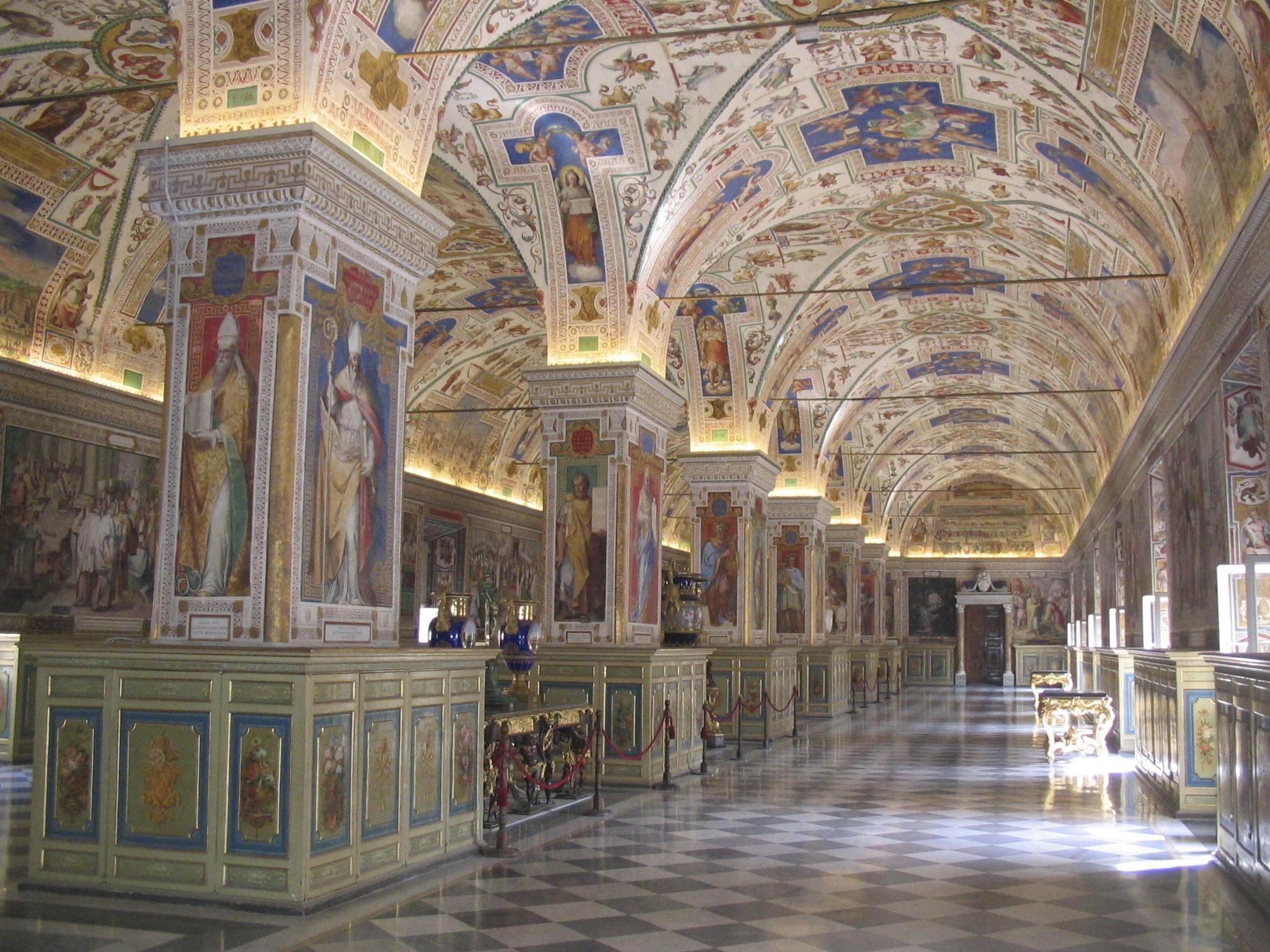 Salone Sistino, Bibliothèque du Vatican