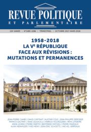 Revue Politique et Parlementaire n° 1085-1086 – PDF