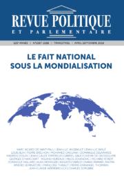Revue Politique et Parlementaire n° 1087-1088
