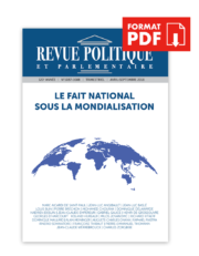Revue Politique et Parlementaire n° 1087-1088 – PDF