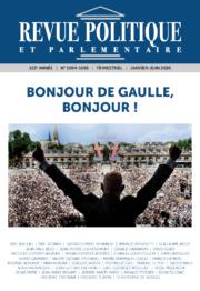 Revue Politique et Parlementaire n° 1094-1095
