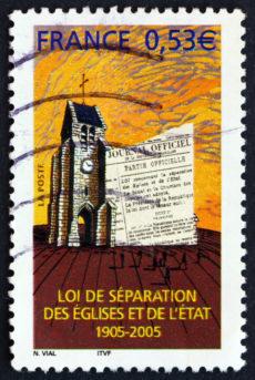 Timbre Loi de séparation des églises et de l'état