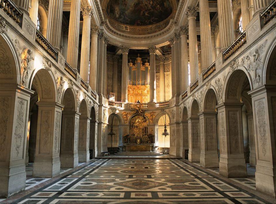 Versailes chapelle royale