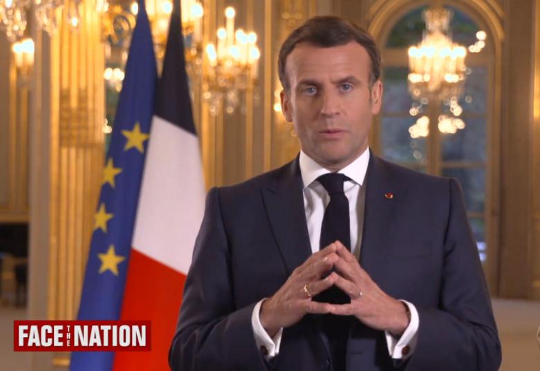 Macron interview