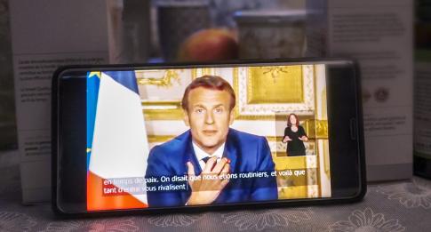 Macron allocution Covid