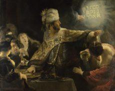 Le festin de Balthazar, Rembrandt