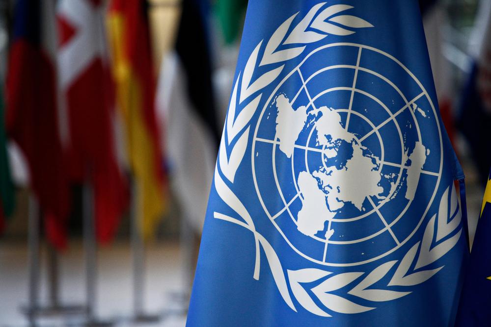 Drapeau Nations Unies