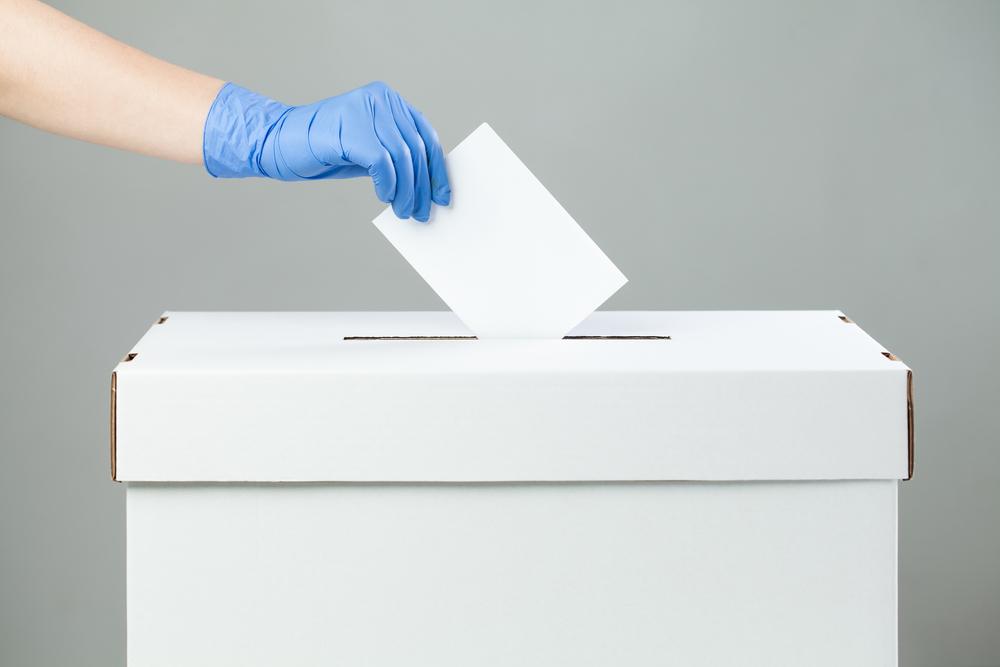 Urne électorale covid
