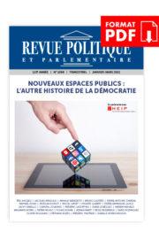 Revue Politique et Parlementaire hors-série – PDF
