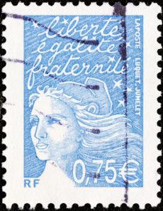 Timbre français Marianne