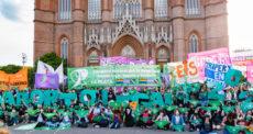 Manifestation pour le droit à l'avortement en Argentine