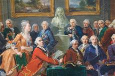 Le Salon de Madame Geoffrin, Gabriel Lemonnier