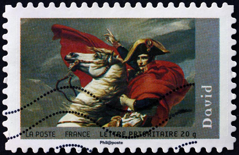 Timbre Napoléon Bonaparte