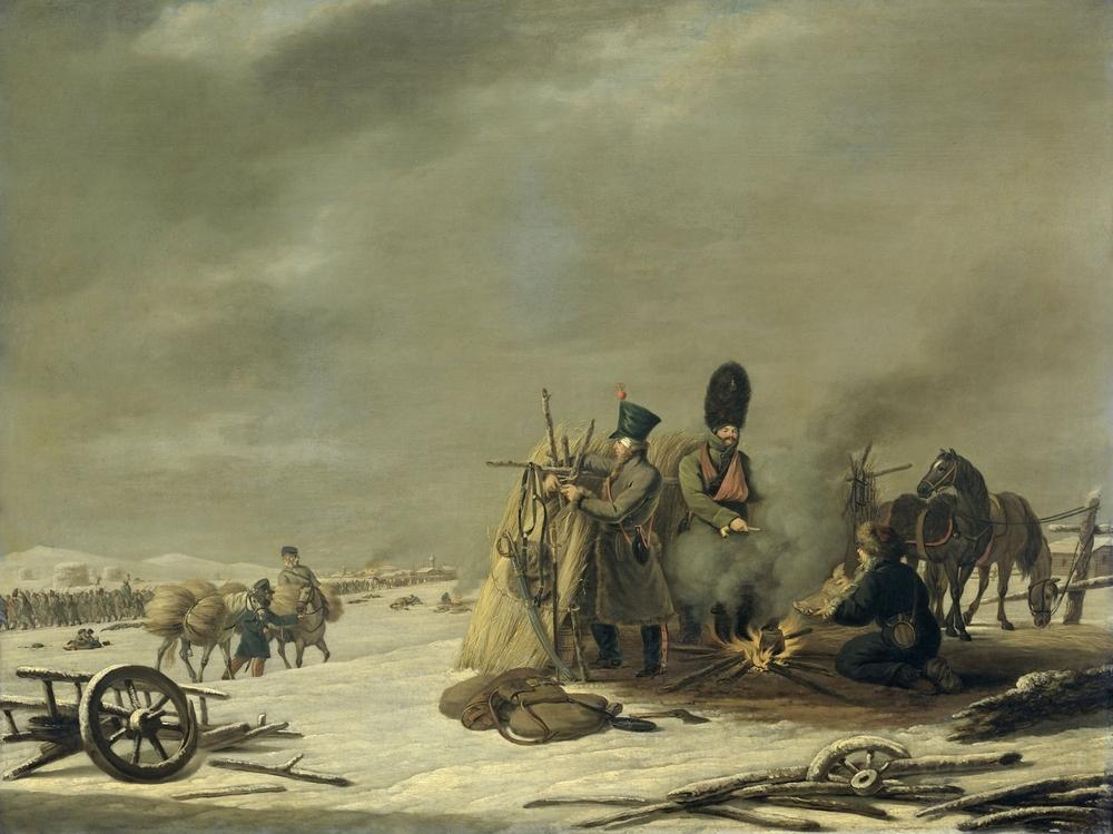 Épisode de la Retraite de Napoléon de Russie, par Johannes Hari